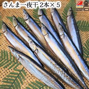 さんま 一夜干 【送料無料】 秋刀魚 おかず 岩手 三陸 釜石 干物 乾物 魚 永野商店
