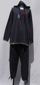 【KENZO】(ケンゾー)フード付き綿100%かぶり長袖パジャマ部屋着に最適【40%off】【楽ギフ_包装】【楽ギフ_のし宛書】