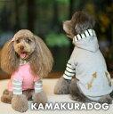 ◆メール便送料無料◆【ドッグウェア】【犬の服】ダッフル風パーカー