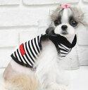 ◆メール便送料無料◆【ドッグウェア】【犬の服】BLACKフードタンク
