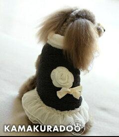 【ドッグウェア】【犬の服】ボアワンピース