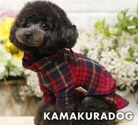 【ドッグウェア】【犬の服】チェックチュニック