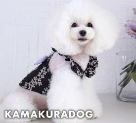 【鎌倉DOG】【犬の服】【ドッグウェア】パープルリボンキャミ