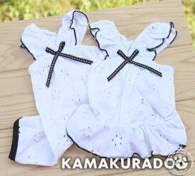 【鎌倉DOG】【犬の服】【ドッグウェア】エーデルワイスつなぎ&ワンピース
