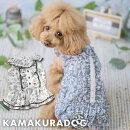 【犬服】涼花フリルワンピース