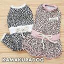【犬の服】NEWレオパードつなぎ&ワンピース
