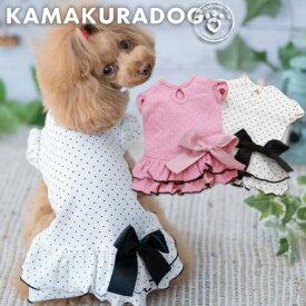 【犬の服】ミニドットワンピース