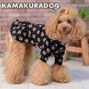 【犬の服】クラシックな花柄ワンピース