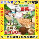 【クーポン使用で20%オフ】福島県産の野菜を応援して下さい!◆旬の野菜をお任せで7種類お届け 送料無料 ※出荷制限・摂取制限の無い…