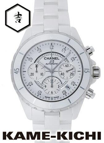 シャネル J12 クロノグラフ Ref.H2009 新品 ホワイト (CHANEL J12 Chronograph)【楽ギフ_包装】