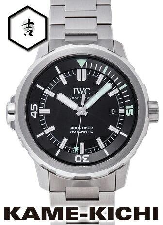 IWC アクアタイマー オートマティック Ref.IW329002 新品 ブラック (IWC Aquatimer Automatic)【楽ギフ_包装】