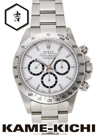 【中古】ロレックス 3年保証 デイトナ Ref.16520 ホワイト (ROLEX Daytona)【楽ギフ_包装】