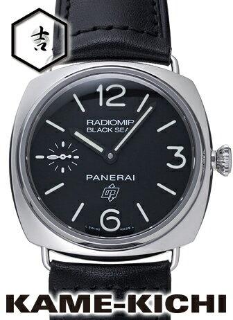 【中古】パネライ ラジオミール ロゴ Ref.PAM00380 ブラック (PANERAI Radiomir Logo)【楽ギフ_包装】