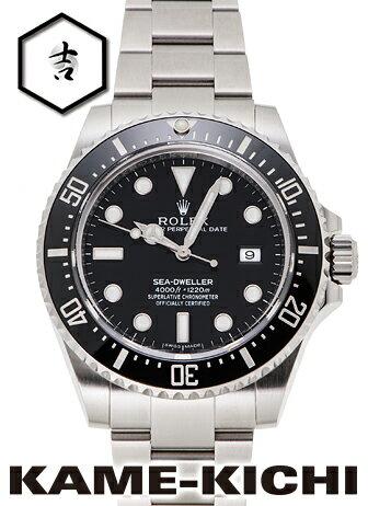 【中古】ロレックス 3年保証 シードゥエラー4000 Ref.116600 ブラック (ROLEX Sea Dweller4000)【楽ギフ_包装】