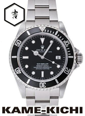 【中古】ロレックス 3年保証 シードゥエラー Ref.16600 ブラック (ROLEX Sea Dweller)【楽ギフ_包装】
