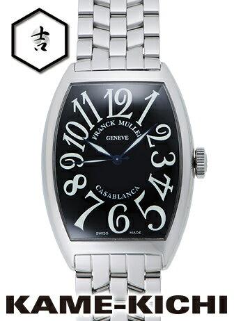 【中古】フランク・ミュラー カサブランカ Ref.6850MC ブラック (FRANCK MULLER Casablanca)【楽ギフ_包装】