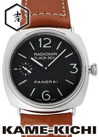 【中古】パネライ ラジオミール ブラックシール Ref.PAM00183 ブラック (PANERAI Radiomir Black Seal)【楽ギフ_包装】