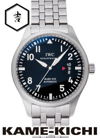 【中古】IWC マークXVII Ref.IW326504 ブラック (IWC Mark XVII)【楽ギフ_包装】