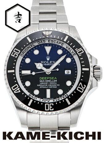 【中古】ロレックス 3年保証 シードゥエラー ディープシー ディーブルー Ref.116660 Dブルー (ROLEX Sea-Dweller Deep Sea D-Blue)【楽ギフ_包装】