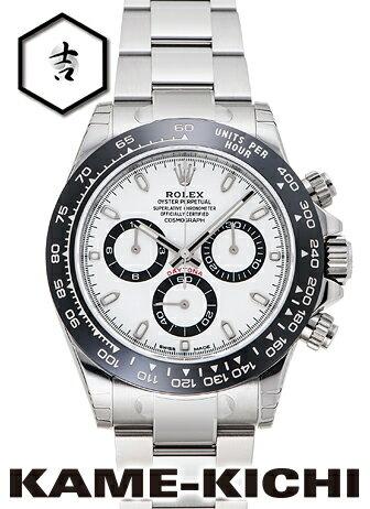 ロレックス デイトナ Ref.116500LN 新品 ホワイト (ROLEX Daytona)【楽ギフ_包装】