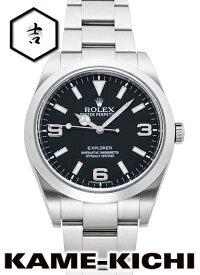 【中古】ロレックス 3年保証 エクスプローラーI Ref.214270 ブラック (ROLEX ExplorerI)【楽ギフ_包装】