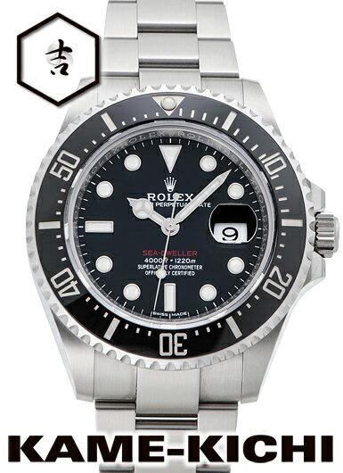 【中古】ロレックス 3年保証 シードゥエラー Ref.126600 ブラック (ROLEX Sea Dweller)【楽ギフ_包装】
