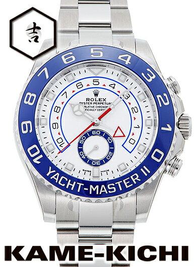 ロレックス ヨットマスター II Ref.116680 新品 ホワイト(新針) (ROLEX Yacht Master II)【楽ギフ_包装】