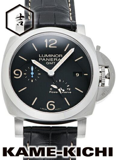 パネライ ルミノール1950 3デイズ GMT Ref.PAM01321 新品 ブラック (PANERAI Luminor1950 3Days GMT)【楽ギフ_包装】