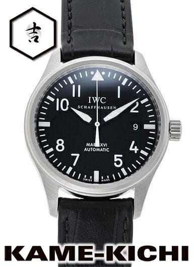 【中古】IWC マークXVI Ref.IW325501 ブラック (IWC Mark XVI)【楽ギフ_包装】
