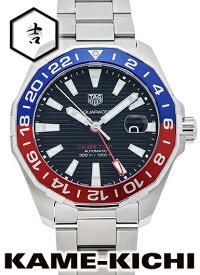 タグ・ホイヤー アクアレーサー キャリバー7 GMT Ref.WAY201F.BA0927 新品 ブラック (TAG HEUER Aquaracer Calibre7 GMT)【楽ギフ_包装】