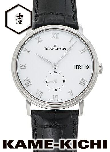 ブランパン ヴィルレ デイデイト Ref.6652-1127-55B 新品 ホワイト (BLANCPAIN Villeret Day-Date)【楽ギフ_包装】