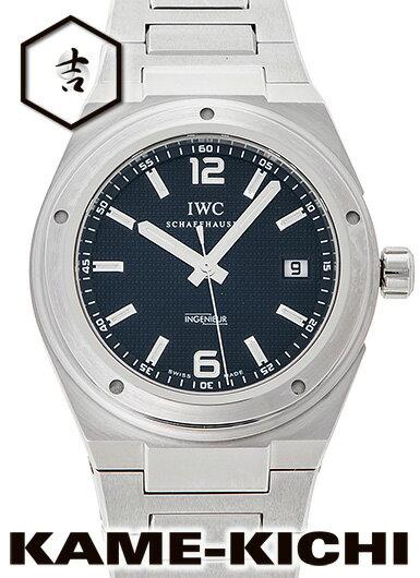 【中古】IWC インヂュニア Ref.IW322701 ブラック (IWC IngenIeur)【楽ギフ_包装】