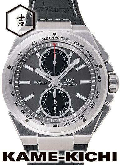 【中古】IWC インヂュニア クロノグラフ レーサー Ref.IW378507 グレー/ブラック (IWC Ingenieur Chronograph Racer)【楽ギフ_包装】