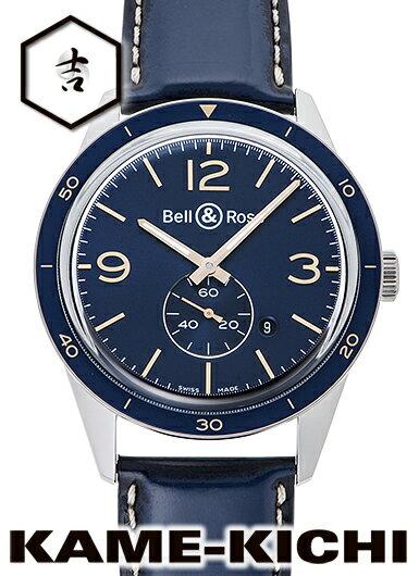 【中古】ベル&ロス ヴィンテージ BR123 アエロナバル Ref.BRV123-BLU-ST ブルー (Bell&Ross Vintage BR123 Aeronavale)【楽ギフ_包装】