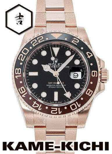 ロレックス GMTマスターII Ref.126715CHNR 新品 ブラック (ROLEX GMT MasterII)【楽ギフ_包装】