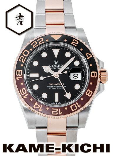 【中古】ロレックス 3年保証 GMTマスターII Ref.126711CHNR ブラック (ROLEX GMT MasterII)【楽ギフ_包装】