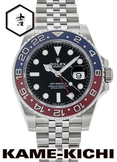 【中古】ロレックス 3年保証 GMTマスターII Ref.126710BLRO ブラック (ROLEX GMT MasterII)【楽ギフ_包装】