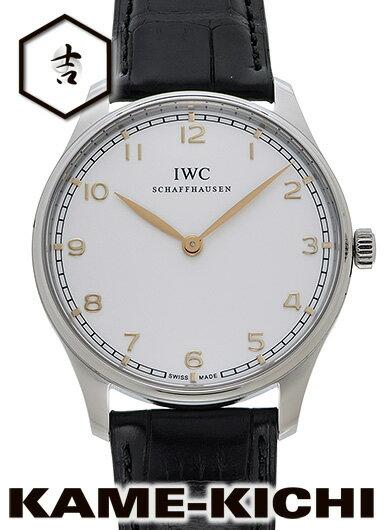 【中古】IWC ポルトギーゼ ピュア クラシック Ref.IW570303 シルバー (IWC Portuguese Pure Classic)【楽ギフ_包装】