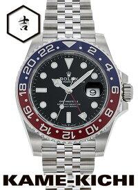 ロレックス GMTマスターII Ref.126710BLRO 新品 ブラック (ROLEX GMT MasterII)【楽ギフ_包装】