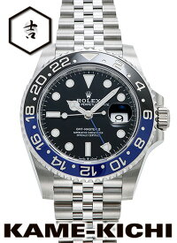 ロレックス GMTマスターII Ref.126710BLNR 新品 ブラック (ROLEX GMT MasterII)【楽ギフ_包装】