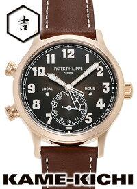 パテックフィリップ カラトラバ パイロット トラベルタイム Ref.5524R-001 新品 ブラウン (PATEK PHILIPPE Calatrava Pilot Travel Time)【楽ギフ_包装】