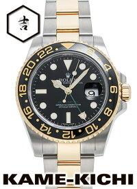 【中古】ロレックス 3年保証 GMTマスターII Ref.116713LN ブラック (ROLEX GMT MasterII)【楽ギフ_包装】