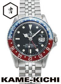 【中古】ロレックス 3年保証 GMTマスター Ref.1675 ブラック (ROLEX GMT Master)【楽ギフ_包装】
