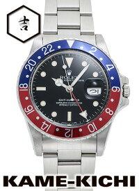 【中古】ロレックス 3年保証 GMTマスター Ref.16750 ブラック (ROLEX GMT Master)【楽ギフ_包装】