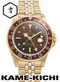 【中古】ロレックス 3年保証 GMTマスター Ref.16758 ブラウン (ROLEX GMT Master)【楽ギフ_包装】