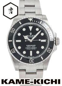【中古】ロレックス 3年保証 サブマリーナ Ref.124060 ブラック (ROLEX Submariner)【楽ギフ_包装】