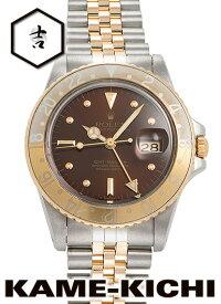 【中古】ロレックス 3年保証 GMTマスター Ref.16753 ブラウン (ROLEX GMT Master)【楽ギフ_包装】
