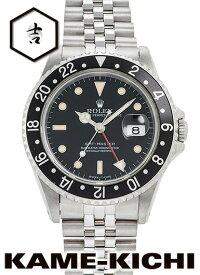【中古】ロレックス 3年保証 GMTマスター Ref.16700 ブラック (ROLEX GMT Master)【楽ギフ_包装】