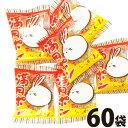 【送料無料】松岡製菓 大阪下町の味!満月ポンあまからしょう油味 1袋(2枚入)×60袋【お菓子 おやつ お試し ポイ…