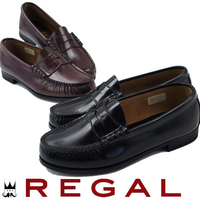 送料無料 25.5cm〜26cmREGAL FH14 ACEB 靴 ローファー リーガル レディース ローファー BLACK(ブラック) BROWN(ブラウン) 3E evid